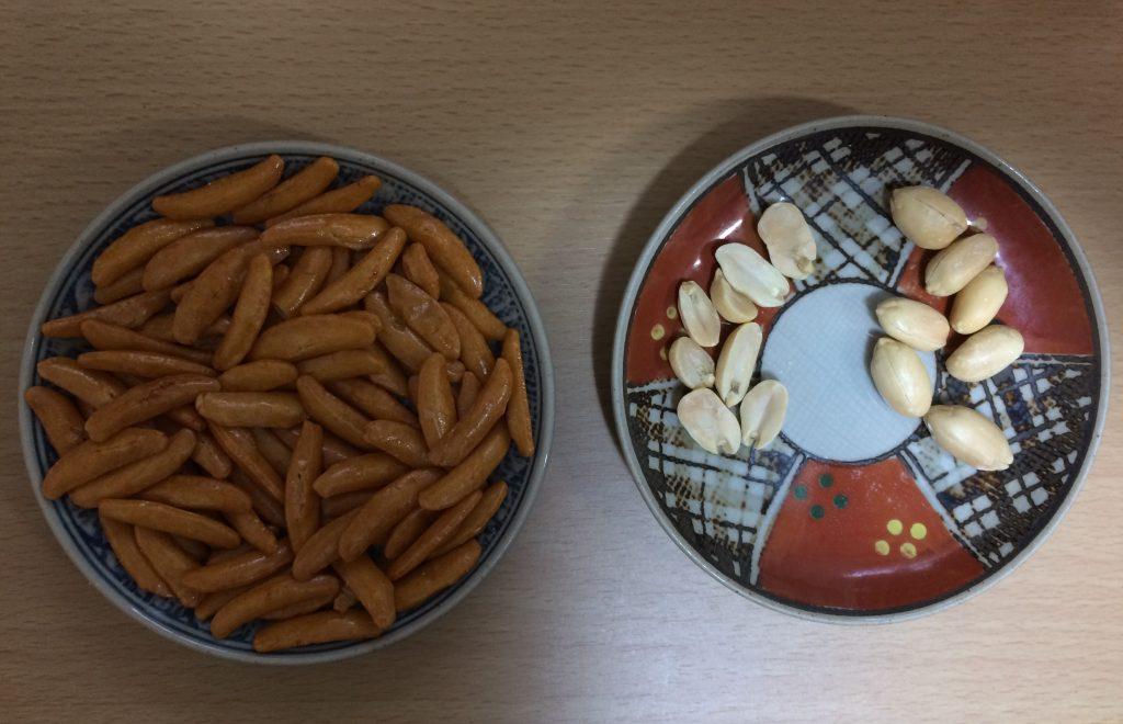 新の柿の種とピーナッツ